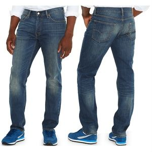 Levi's 541 Athletic Fit Jeans 54x32 Blue Canyon